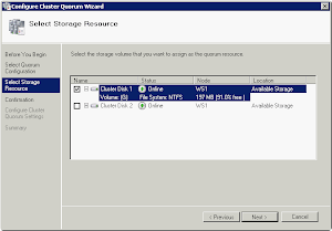 How to : Failover Cluster for Windows Server 2008 R2