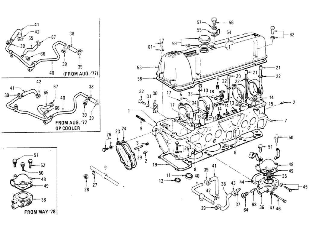 Datsun 620 Cylinder Head L20b
