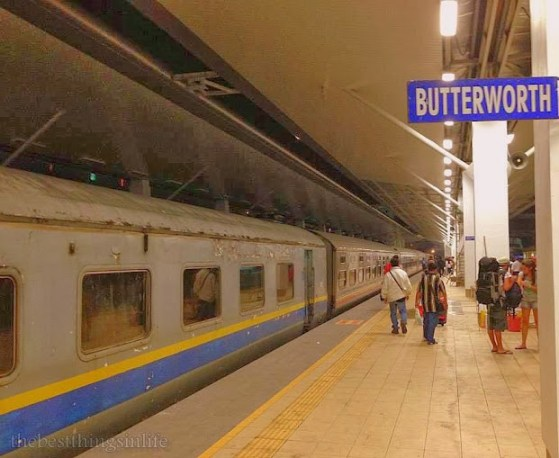 August 2013 - Arriving at the Butterworth station at 5.00 am in the morning.