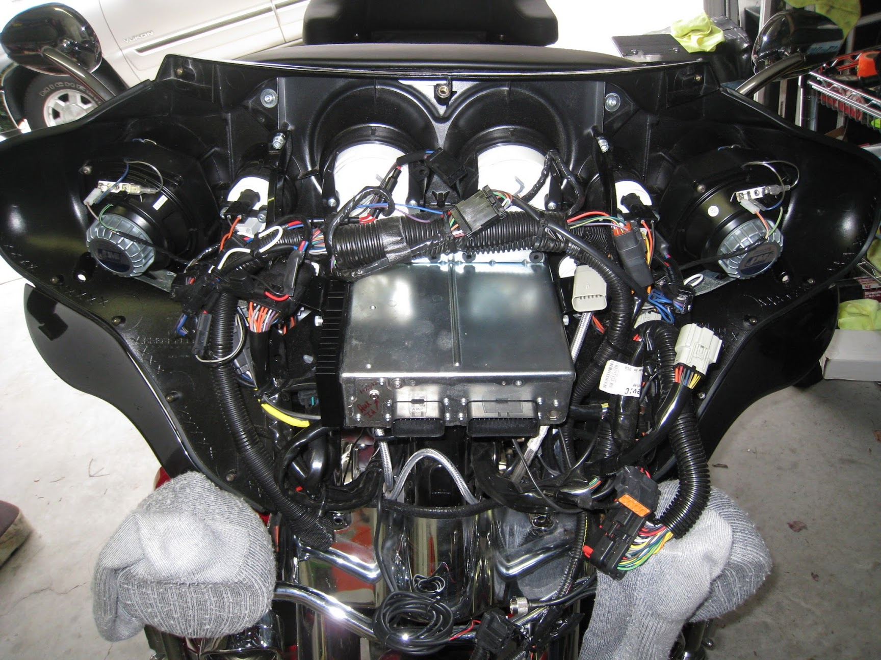 2013 Harley Heated Grips Wiring Diagram Harley Davidson Touring Suspension Noises Diagnostic Guide