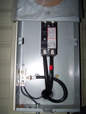 Ground Wire: Meter Socket to Panel  DoItYourself
