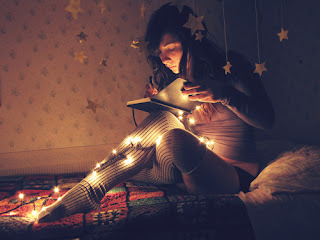 escrita-mágica-livro-pisca-clima-natal-tumblr