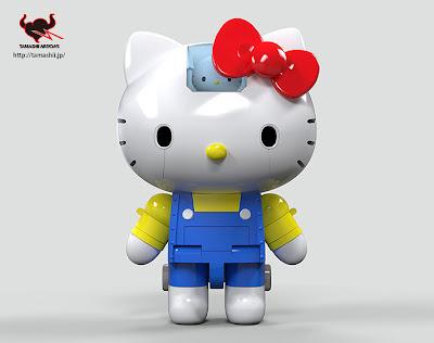 #無敵鐵金剛+凱蒂貓=?:登場吧! 超合金 Hello Kitty !! 6