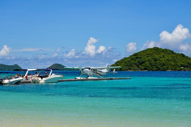 Cessna Seaplane at the Two Seasons Resort Palawan