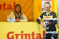 Grinta, met Wim Wullaert en Daphne Derammelaere op de beursstand van West-Vlaanderens Mooiste