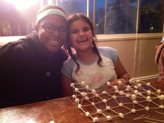 Bre and her Special Little Friend -- YWAM Madison Allied Drive Outreach