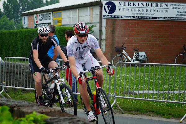 1/8e triatlon Roeselare - 1 juni 2014