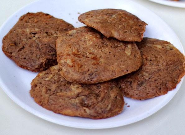 Nutella Buttermilk Biscuits Recipe | Nutella Drop Biscuits (Eggless)