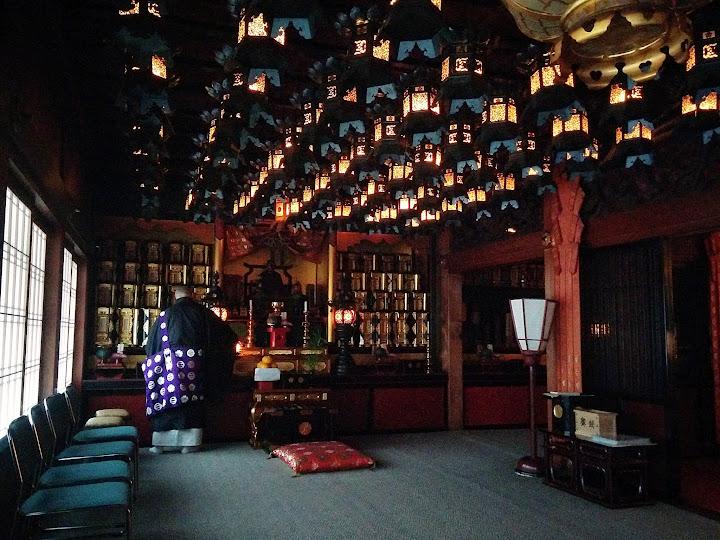 Templo budista en Koyasan