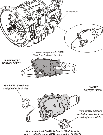 Allison Transmission Reverse Pressure Switch Location