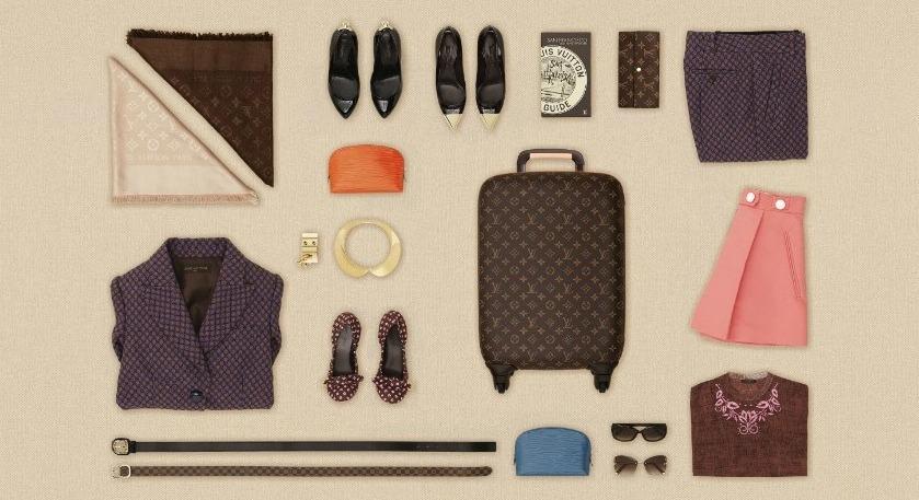 *LV行李箱包裝藝術:Louis Vuitton 路易威登「The Art of Packing 2 」 1