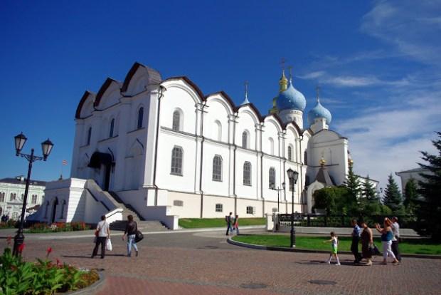 Kremlin de Kazán. Catedral de la Anunciación