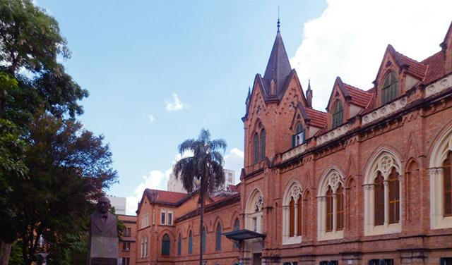 Santa Casa de São Paulo - depois da correção de perspectiva