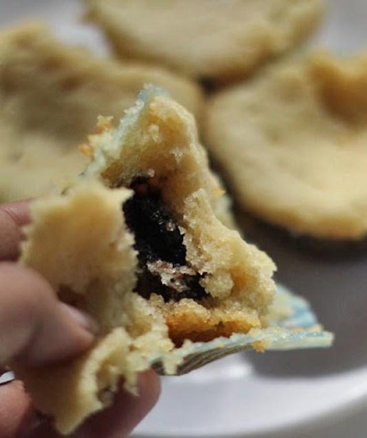 Chocolate stuffed Cupcakes Recipe | Moist, eggless cupcakes