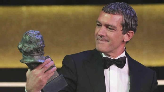 Antonio Banderas recogió el Goya de Honor por su carrera