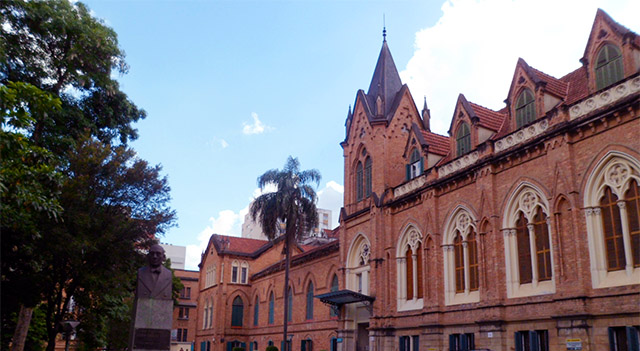 Santa Casa de São Paulo - antes da correção