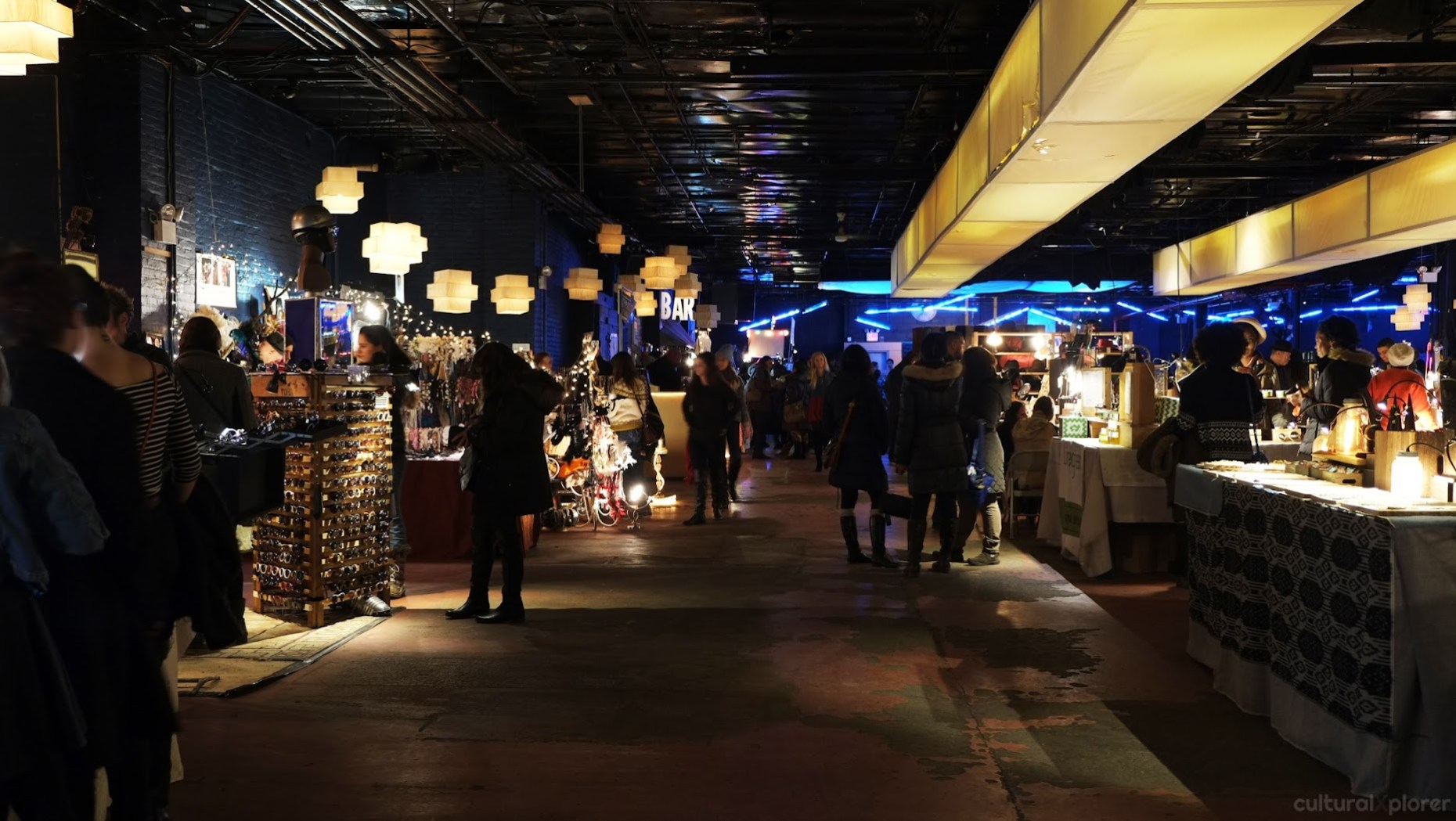 Brooklyn Night Bazaar Shopping