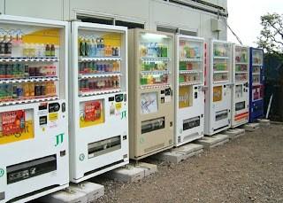 Ở Nhật phải biết đến máy bán hàng tự động