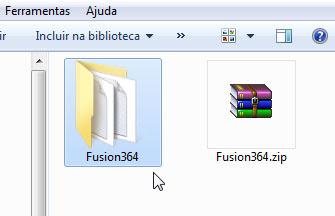 Kega Fusion já descompactado e pronto para uso