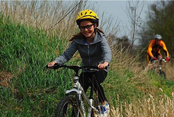 initiatie mountainbike op schiervelde door SVS