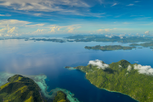 Culion Islands in the Philippines