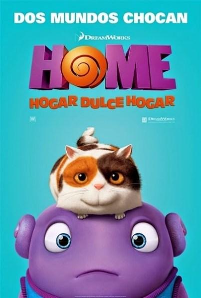 Póster: Home: Hogar dulce hogar (2015)