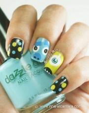 simply rins nail art monster
