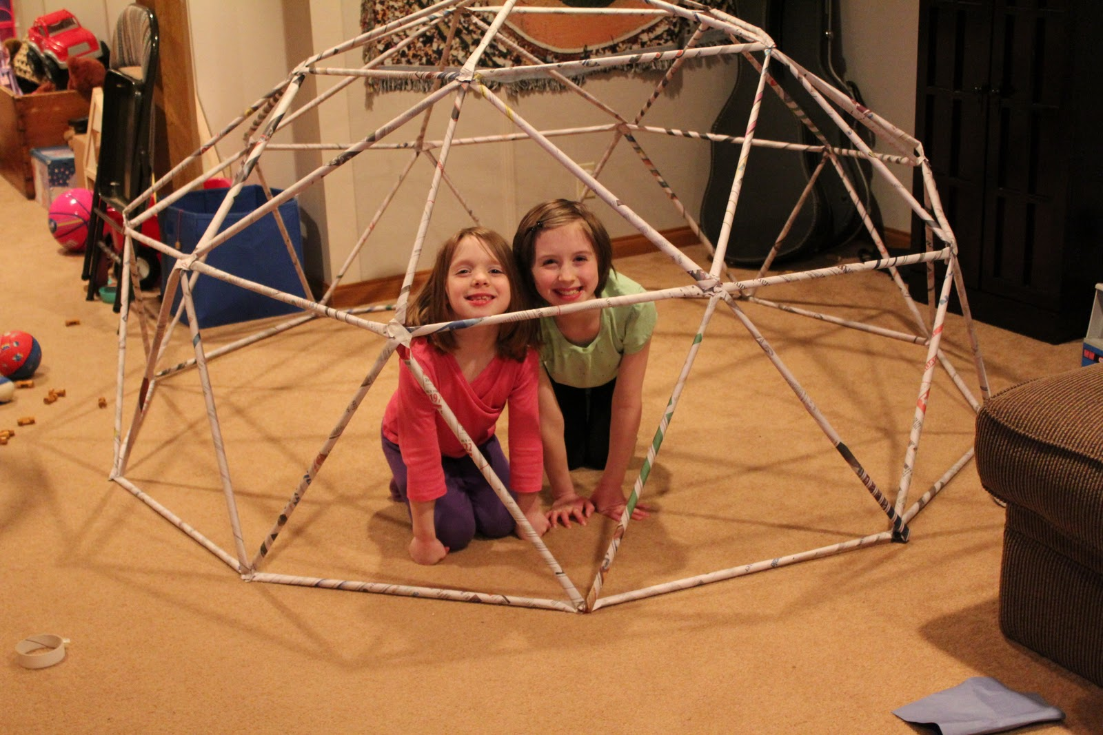 The Adventures Of Sugarlump And Honeycomb Our Geodesic