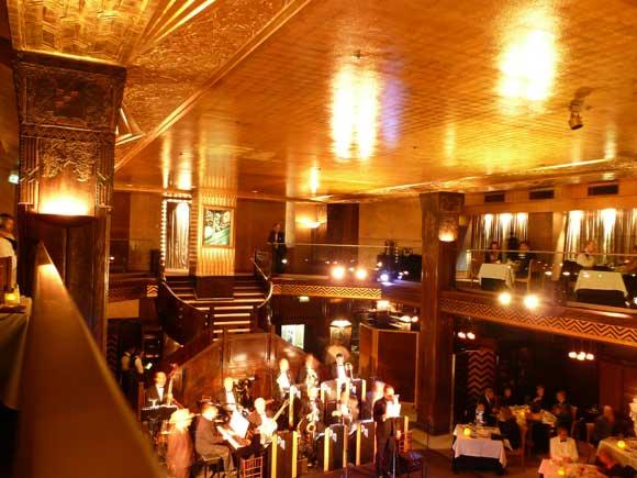 vintage Cicada Club interior
