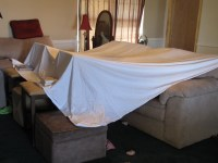 A Real Susie Homemaker: Living Room Tent