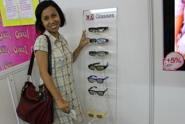 Kacamata 3D LG