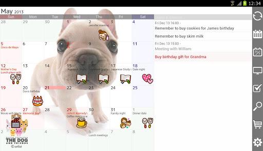 *完整自訂外觀的行事曆:Jorte (備忘記事本) (Android App) 3