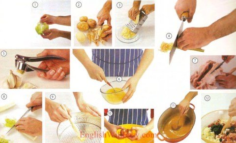 Cooking-Food-dictionnaire d'images