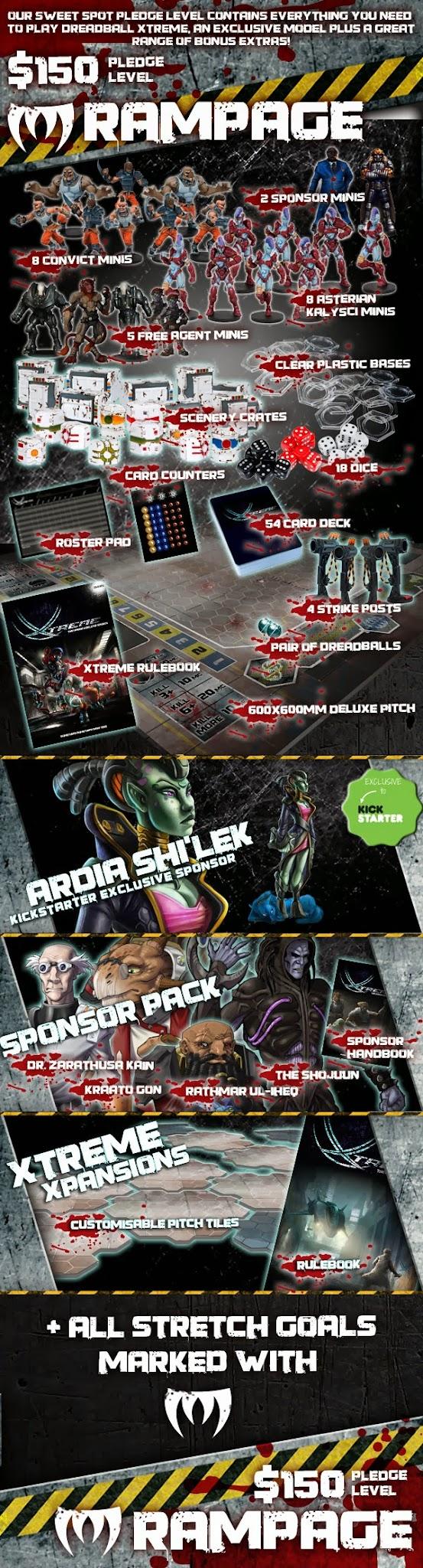 Mantic Games, Dreadball, Juegos de Especialista, blood bowl, juegos de mesa, Dreaddball Xtreme, DungeonBowl, Kickstarter, Crowdfunding,Crying Grumpies, entrance, invitation, ticket