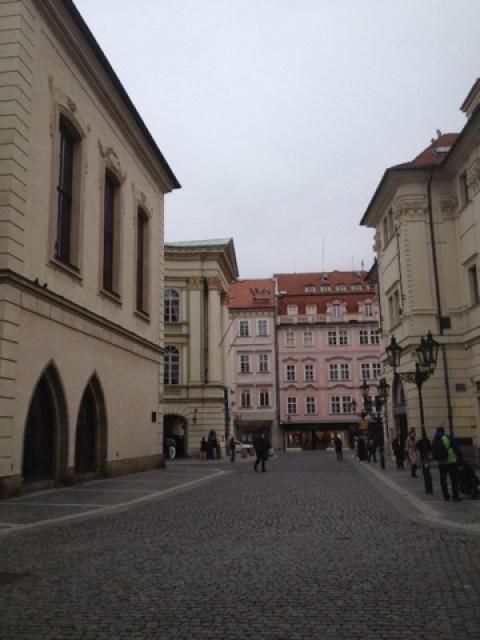 Prag... ein Spaziergang durch die Pariser Straße