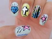 graffiti nail art - chichicho