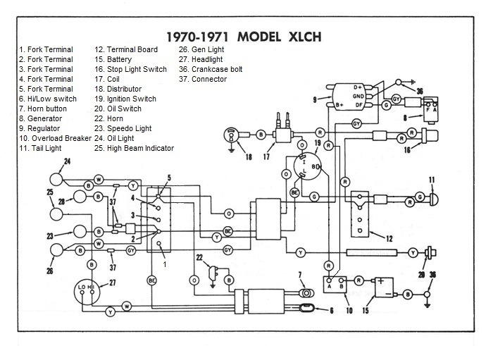 wiring diagram for motorcycle turn signals ford cortina wiper motor ironhead bike won't off - the sportster and buell forum xlforum®