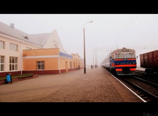Цягнік у Стоўбцах