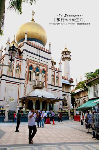 【走走新加坡】蘇丹回教堂 - Anismile 文字旅攝