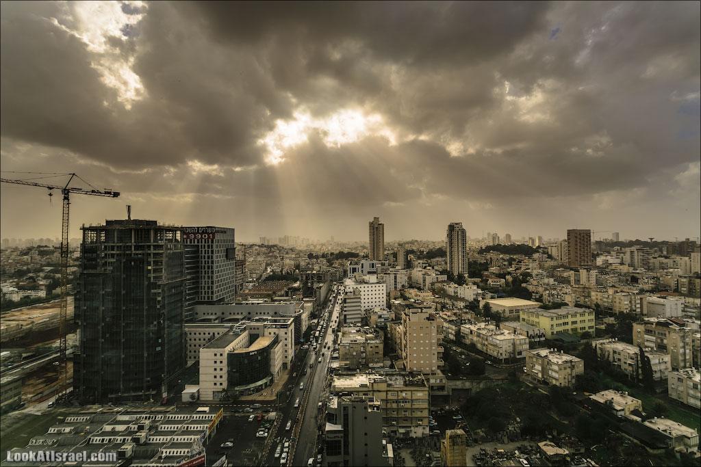 Дожди в Израиле и Тель Авиве