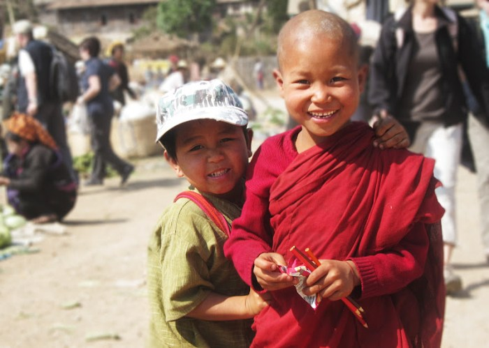 Child Monk in Myanmar