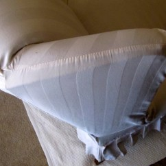How To Make Slipcover For Wingback Chair Rooster Cushions My Wing Reveal A