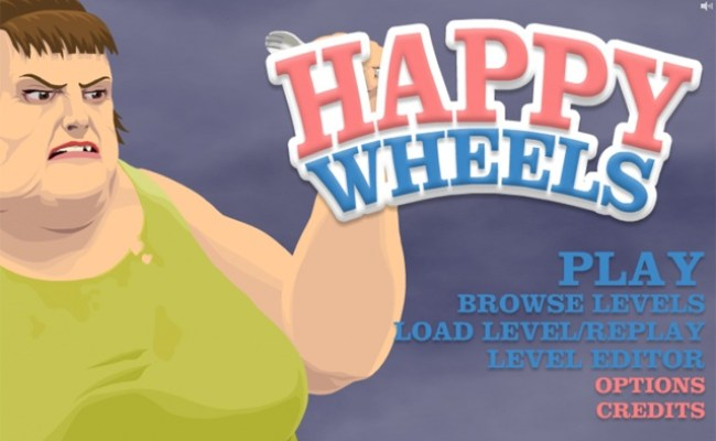 Black And Gold Games Happy Wheels Full Version Total Jerkface
