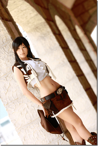 final fantasy vii cosplay - tifa lockhart 3 by aira
