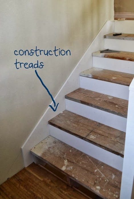 Step By Step To Finishing Steps Ana White Woodworking | Finished Wood Stair Treads