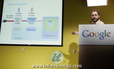 Google menjual listrik bertenagakan angin