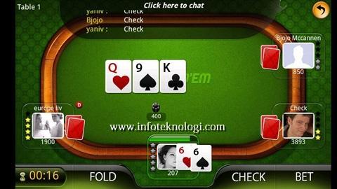 Game Poker di Handphone Android