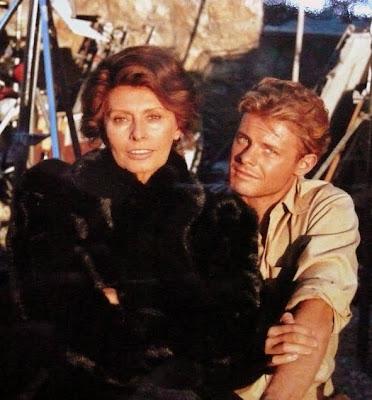 Sophia Loren e Fabrizio Rodano