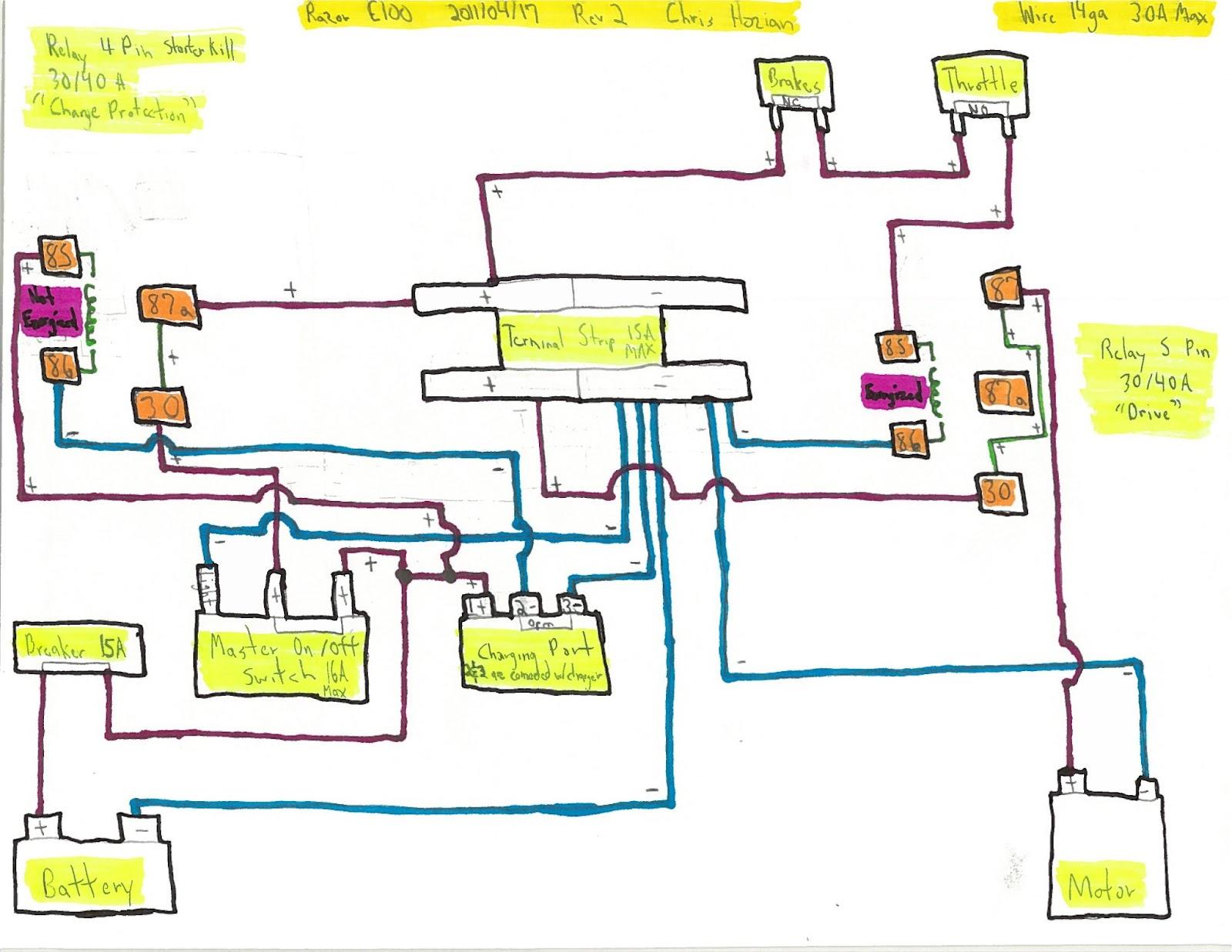 hight resolution of razor mod scooter wiring diagram wiring diagram schematicsrazor sport mod electric scooter wiring diagram wiring library