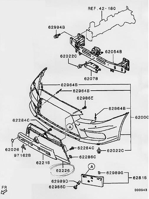 Mitsubishi Evo Parts Diagram. Mitsubishi. Auto Parts